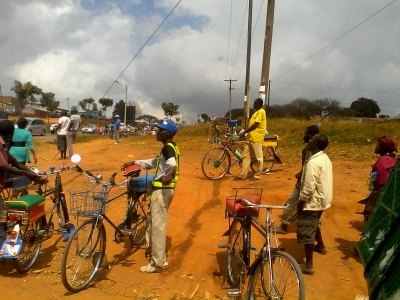 Malawi Youth Combat Unemployment Through Bicycle-Taxi Business