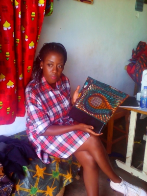 Rehema Mkangama, owner of ReyStitches