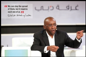 Econet Wireless Founder Strive Masiyiwa Implements Programmes to Tackle Ebola